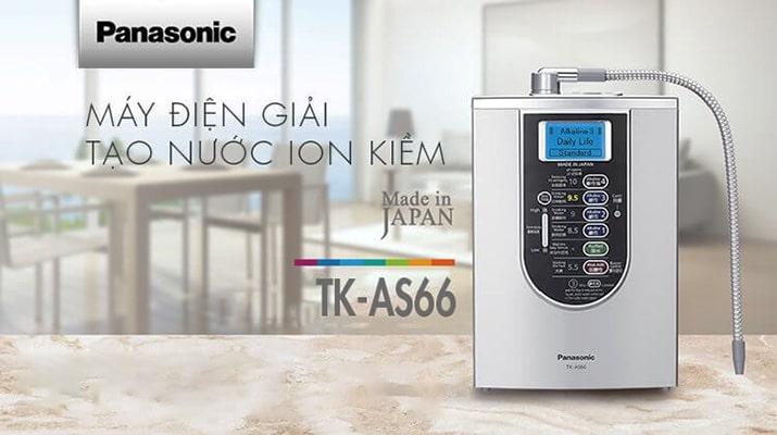 1️⃣Máy Lọc Nước Ion Kiềm Panasonic TK-AS66 【Quà Tặng 17tr830】