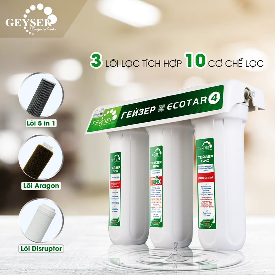 Bộ tiền lọc phù hợp với máy lọc nước ion kiềm Kangen SD501 Platinum