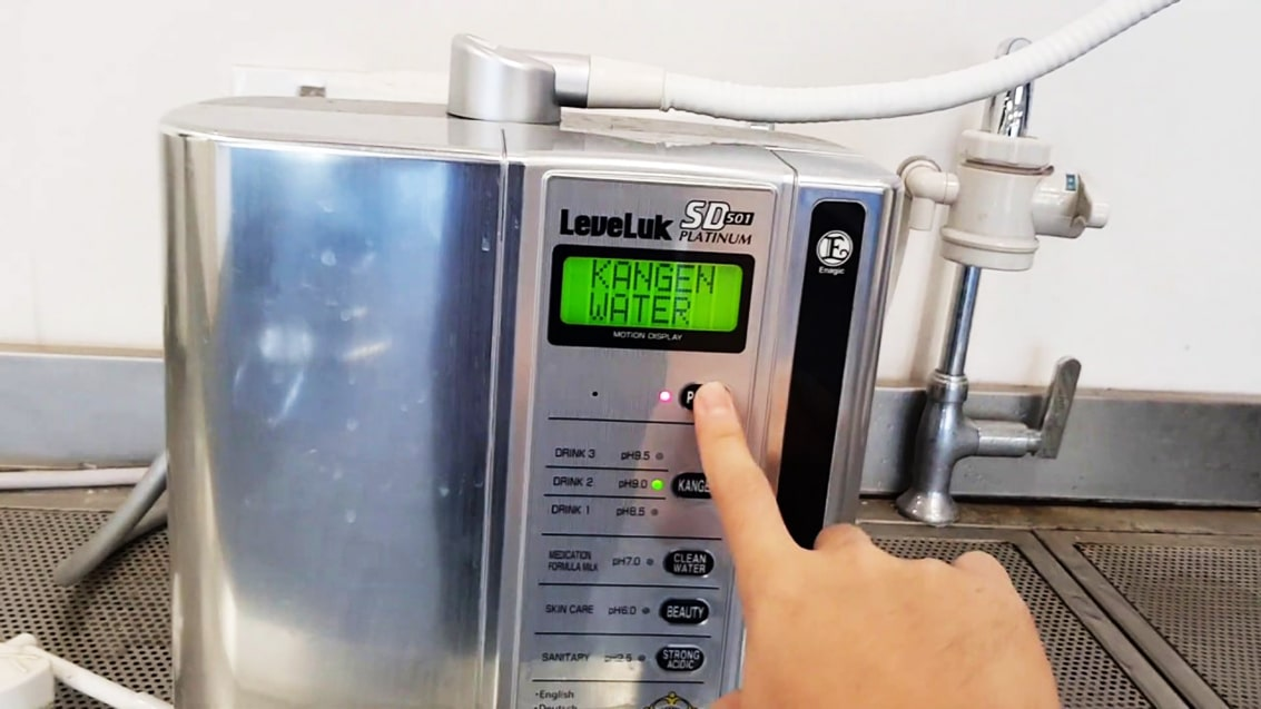 Tránh va chạm mạnh lên máy lọc Kangen SD501 Platinum