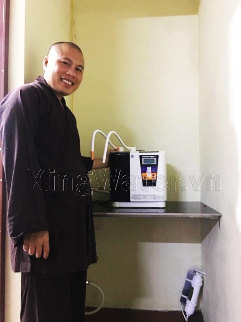 Hình ảnh thực tế máy lọc nước Kangen Leveluk Super 501 được lắp đặt
