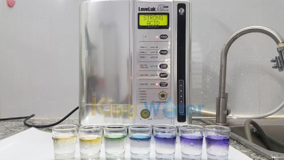 Hình ảnh thực tế máy Kangen SD501 Platinum chính hãng