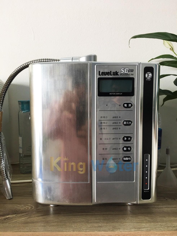 Hình ảnh thực tế máy lọc nước Kangen SD501 Platinum chính hãng