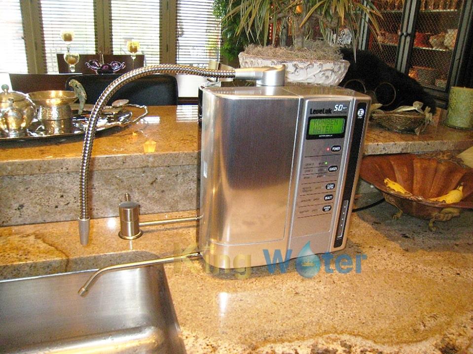 Hình ảnh thực tế máy lọc nước Kangen SD501 Platinum chính hãng chất lượng