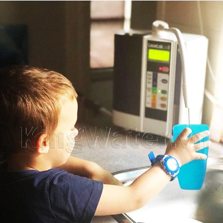 Hình ảnh thực tế máy lọc nước Kangen Leveluk JR2