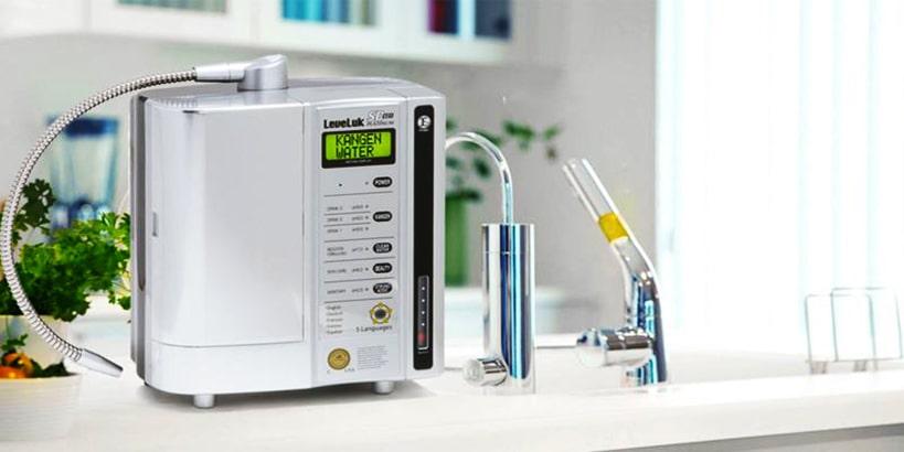 Hình ảnh thực tế máy lọc nước Kangen SD501 Platinum chính hãng nhập khẩu