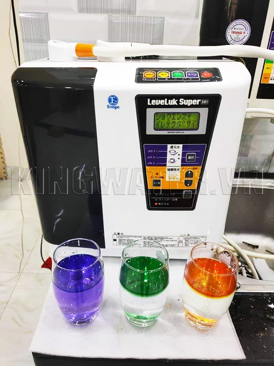 Lắp bộ tiền lọc cho máy lọc nước Kangen Super 501 để tạo ra nguồn nước chất lượng hơn