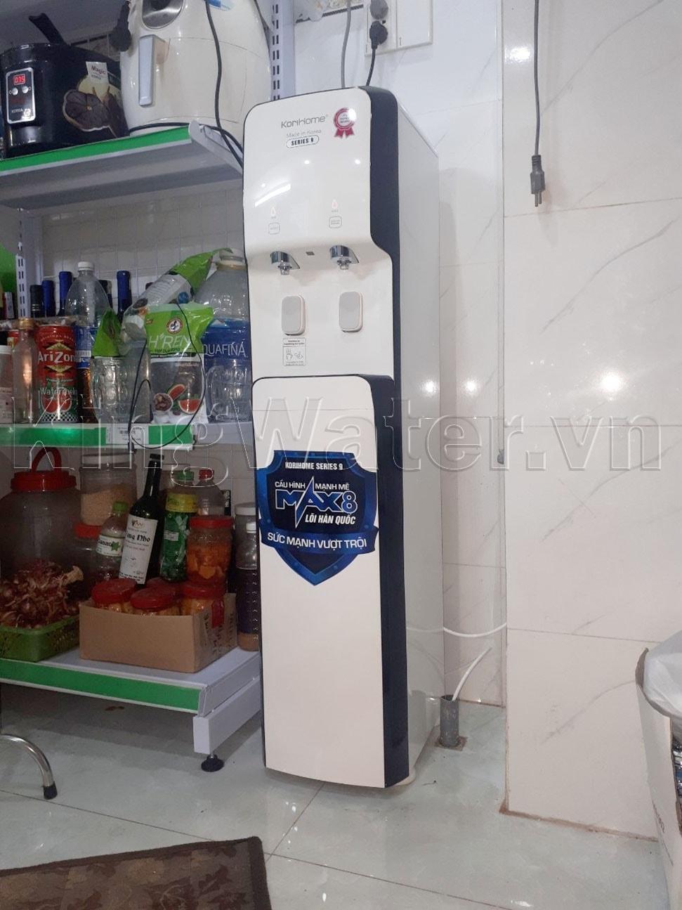 Hình ảnh thực tế máy lọc Korihome WPK-938
