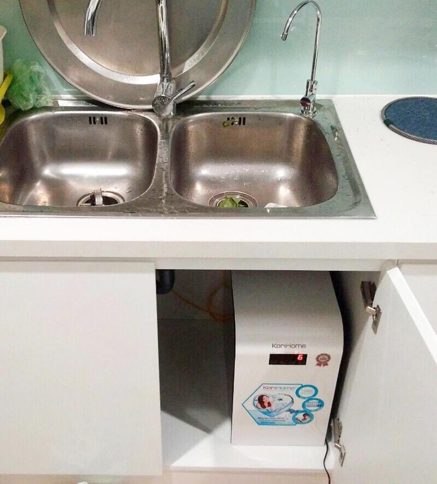 Hình ảnh thực tế máy lọc Korihome WPK-606