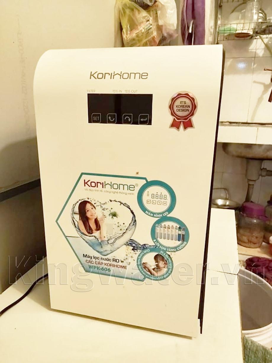 Hình ảnh thực tế máy Korihome WPK-606