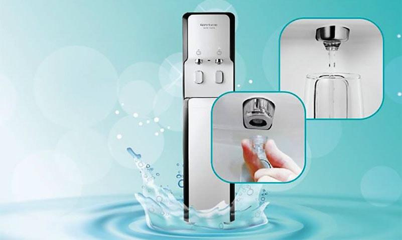 Máy lọc Korihome WPK-938 thiết kế sáng tạo cho phép vòi nước dễ dàng tháo rời