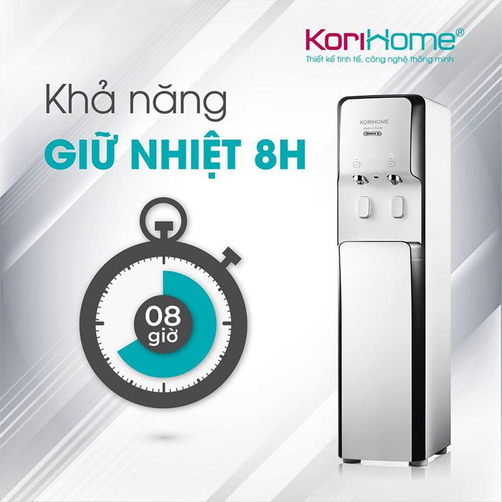 Dòng lọc nóng lạnh Korihome WPK-938 có khả năng giữ nhiệt cao