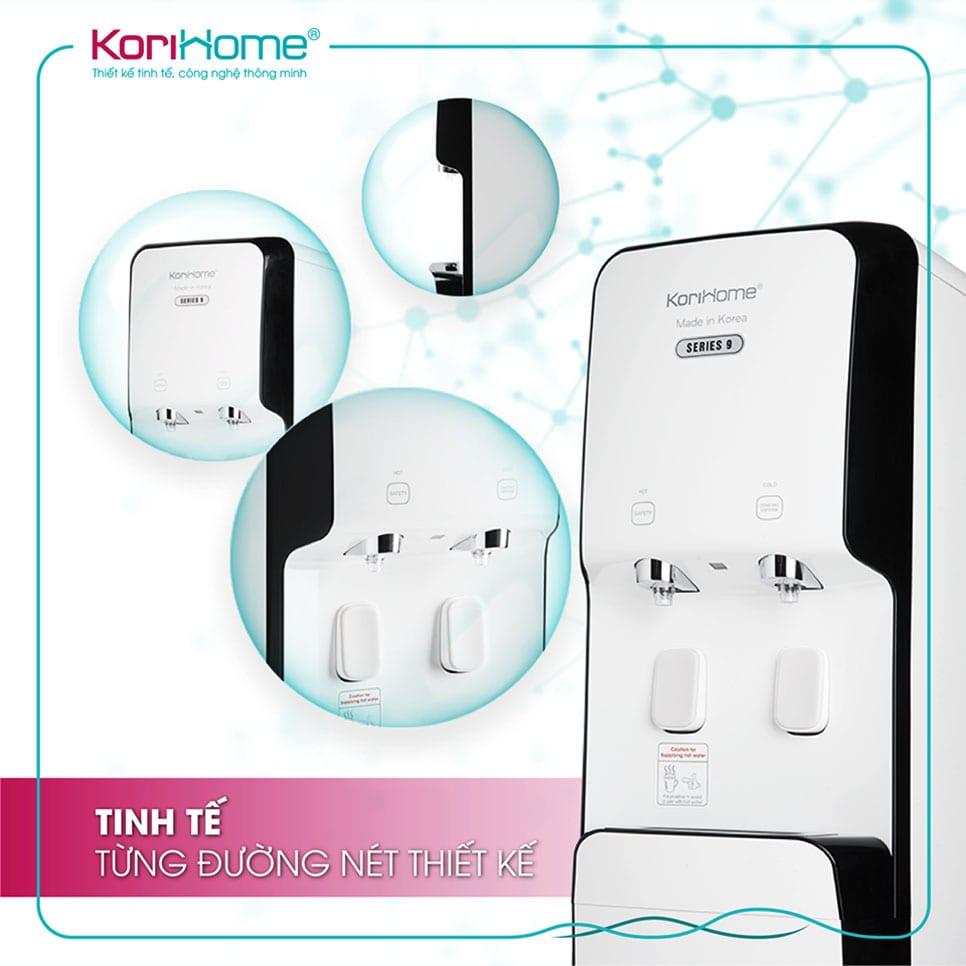 Máy lọc Korihome WPK 938 tích hợp nóng lạnh