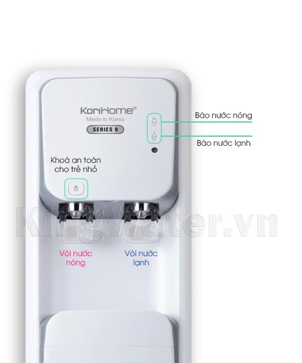 Máy lọc nước nóng lạnh Korihome WPK-916 là sản phẩm vô cùng tiện lợi