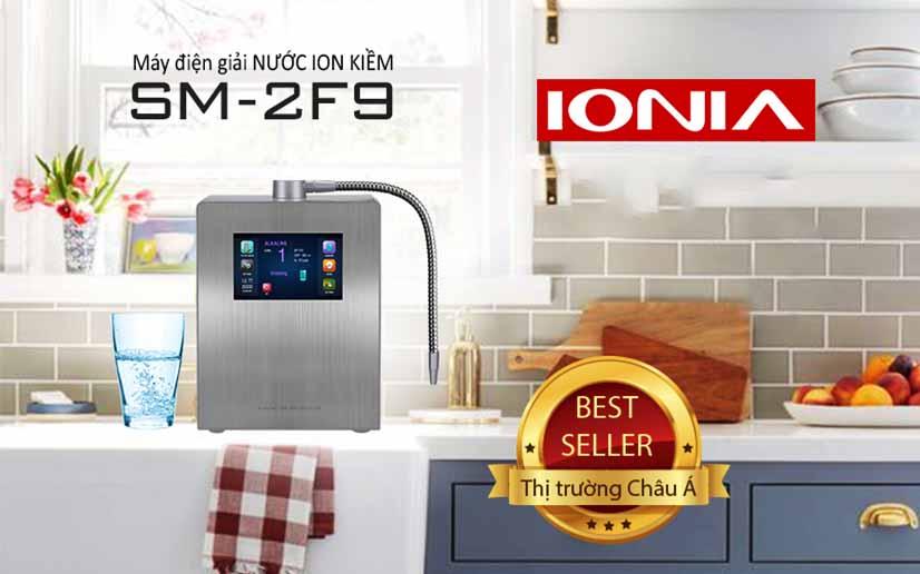 Máy lọc nước ion kiềm Ionia được sản xuất bởi tập đoàn IONIA của Hàn Quốc