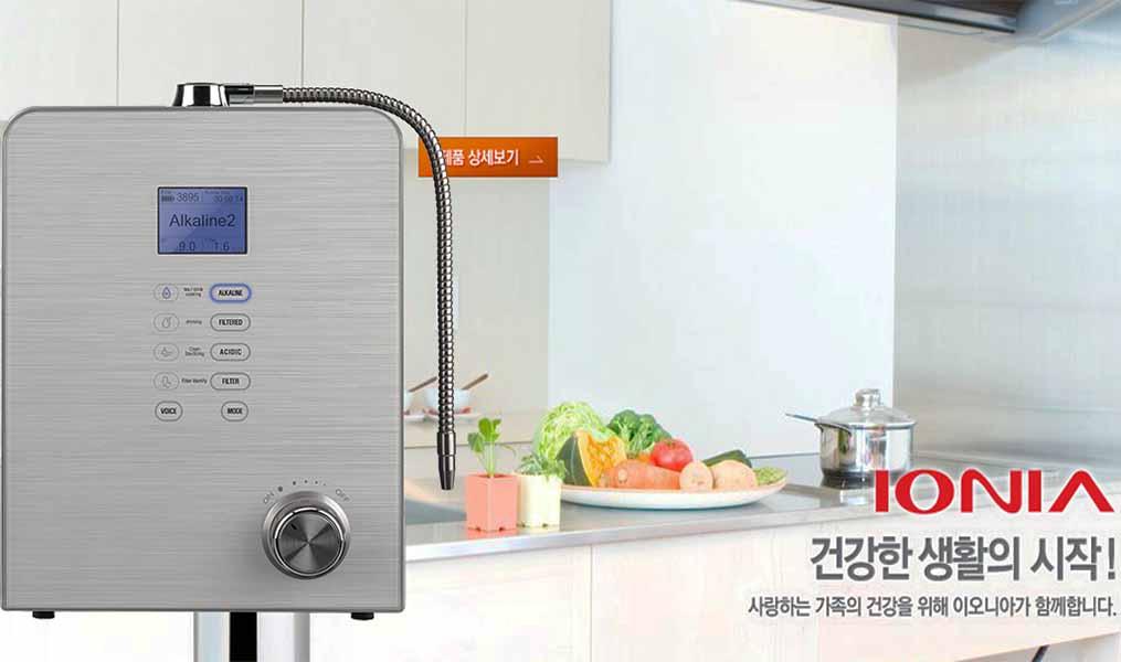 Máy lọc nước ion kiềm Hàn Quốc được thừa hưởng và tích hợp công nghệ lọc sạch tiên tiến
