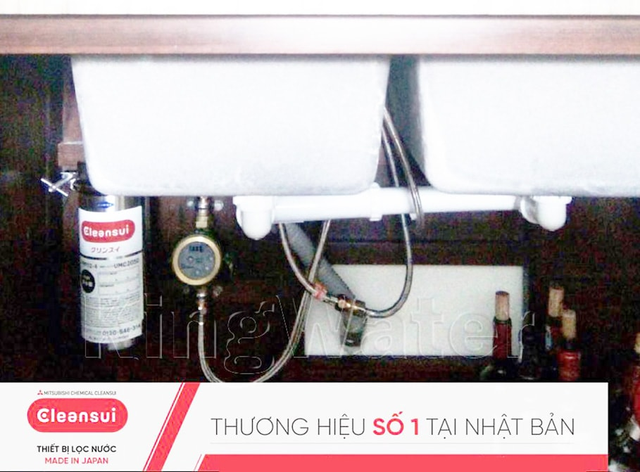 Hình ảnh thực tế model máy lọc nước Mitshubishi Cleansui MP02-3