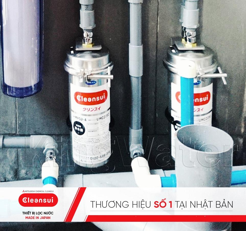 Hình ảnh thực tế dòng máy lọc nước Mitshubishi Cleansui MP02-3