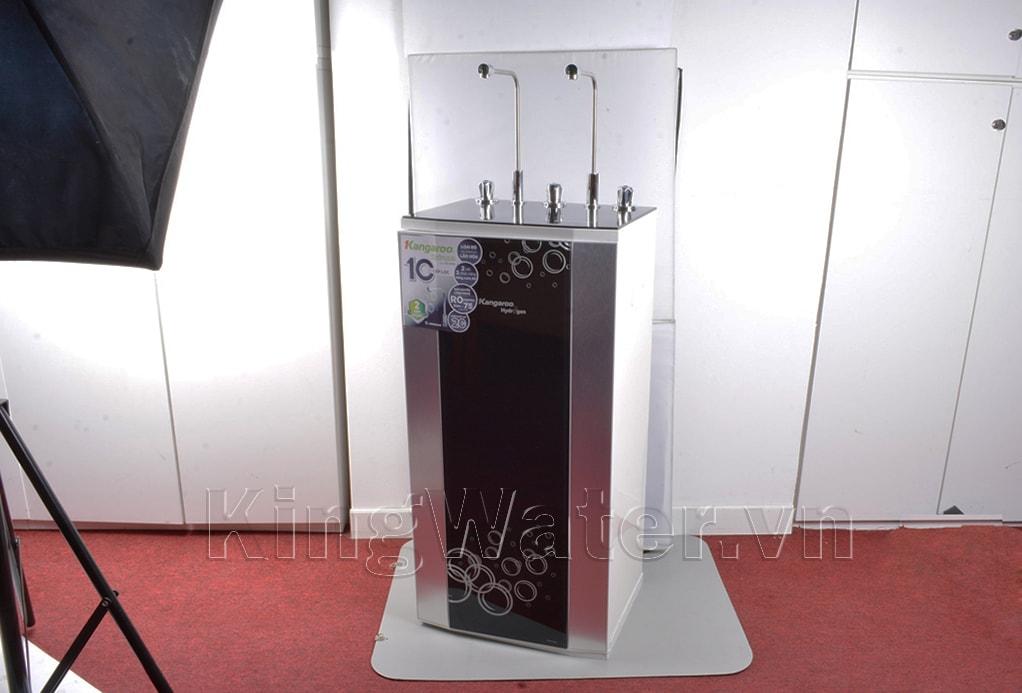 Hình ảnh thực tế dòng máy lọc nước Kangaroo KG100HK VTU 2 vòi