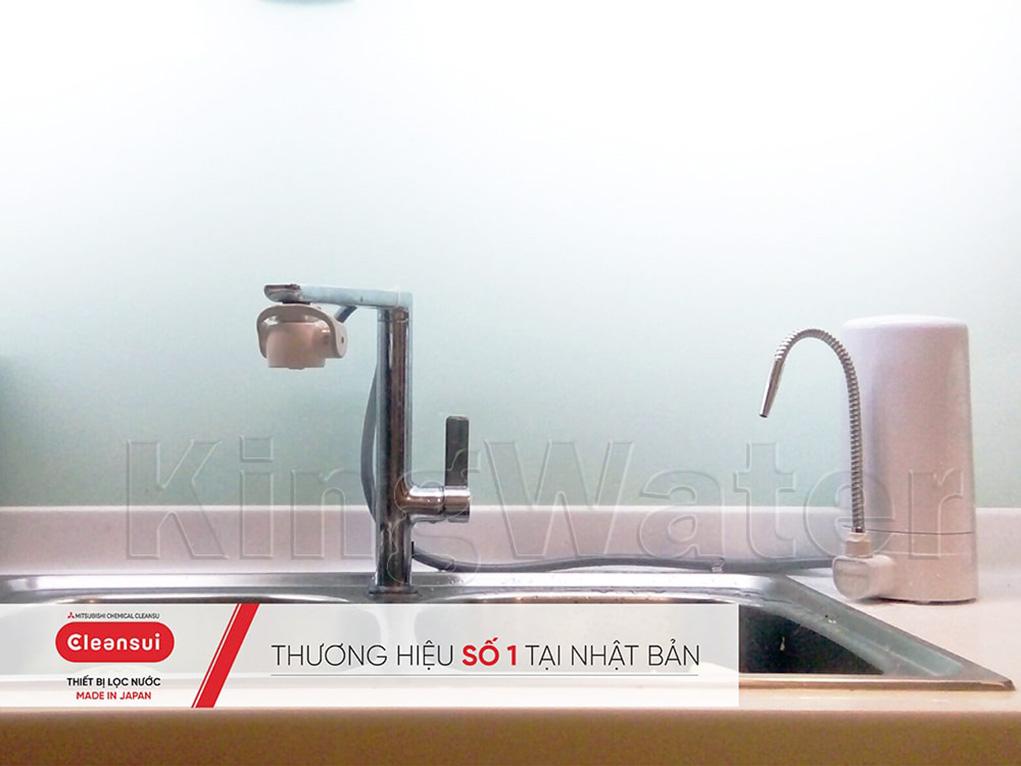 Hình ảnh thực tế dòng máy lọc nước Cleansui ET101