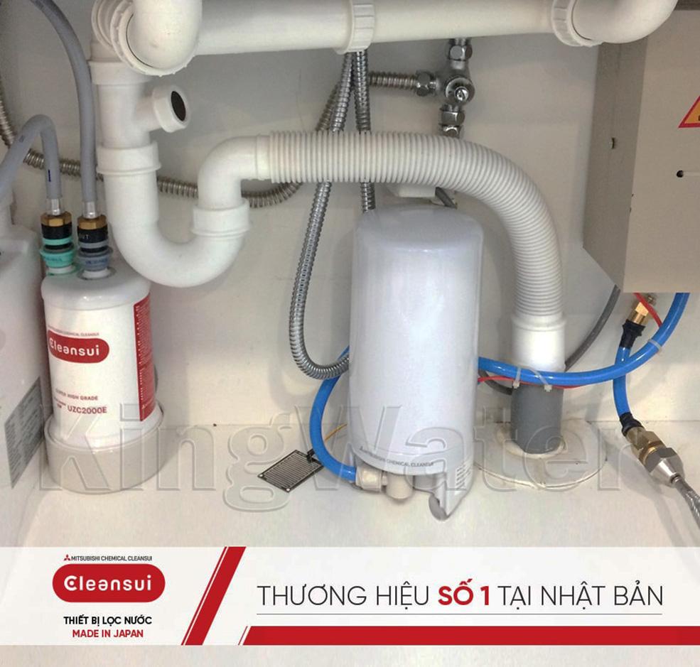 Hình ảnh thực tế máy lọc nước Mitsubishi Cleansui ET101