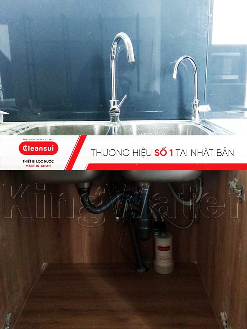 Hình ảnh thực tế dòng máy lọc nước Mitsubishi Cleansui EU101