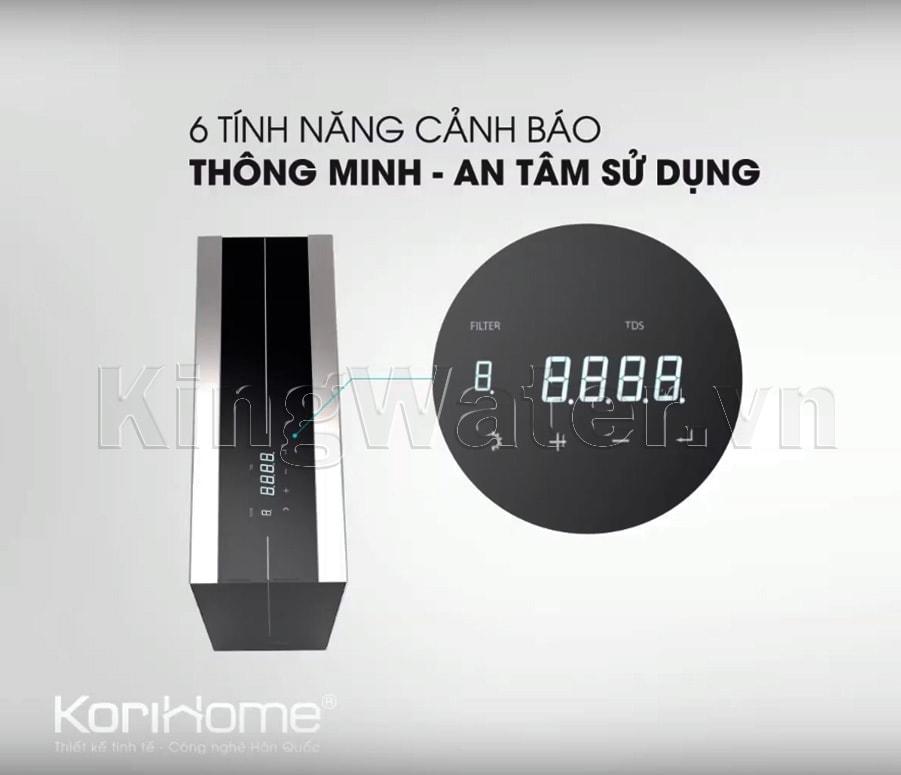 Dòng máy Korihome WPK-K91 tích hợp màn hình hiện đại