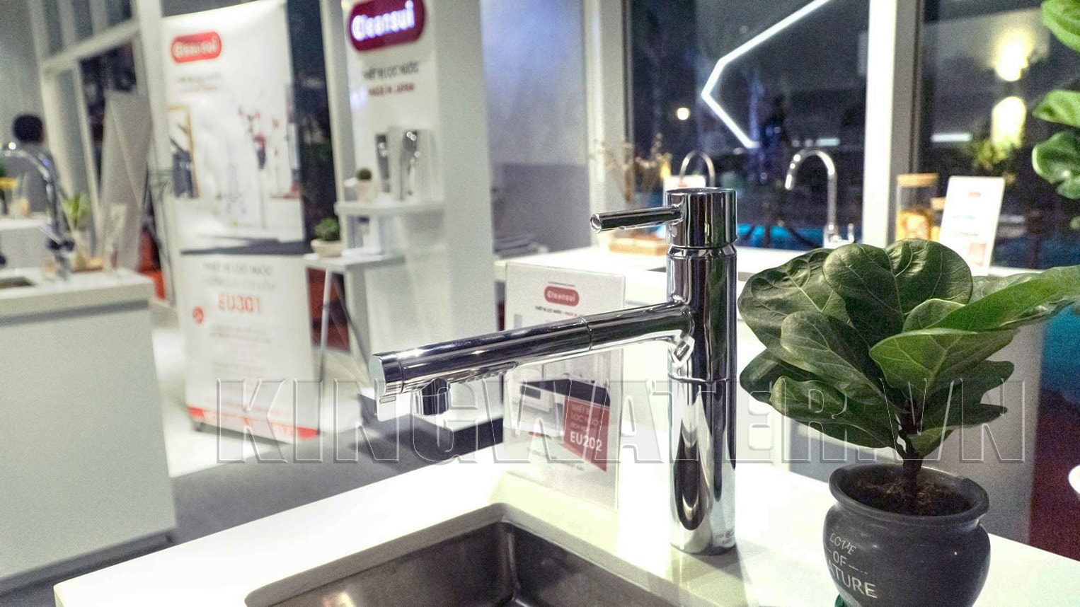 Hình ảnh thực tế mẫu mã máy lọc nước Mitsubishi Cleansui EU202