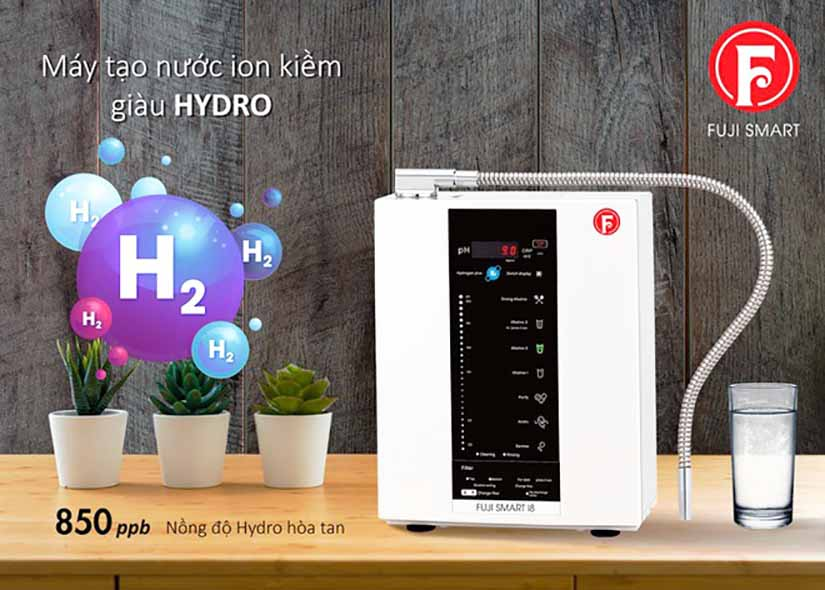 Máy lọc nước Fuji Smart là sản phẩm cao cấp của tập đoàn Fuji Medical