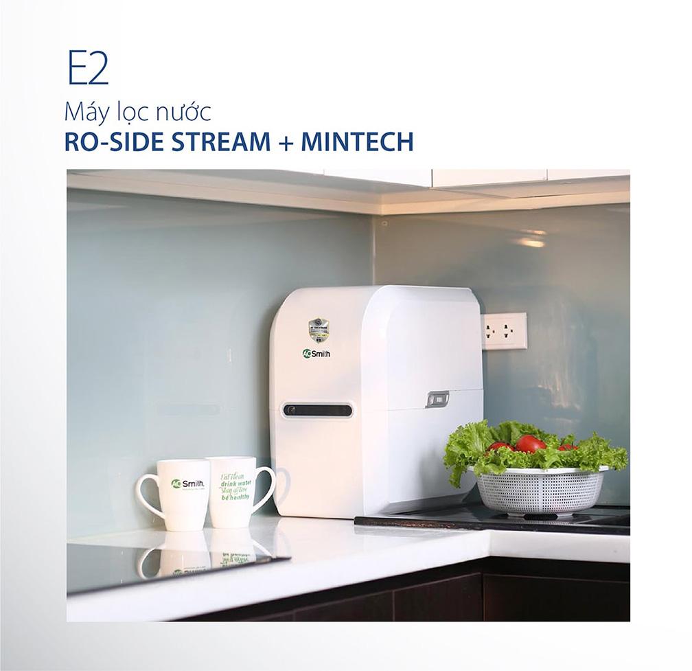 Máy Ao Smith E2 dễ dàng thu hút khách hàng bởi thiết kế vô cùng sang trọng