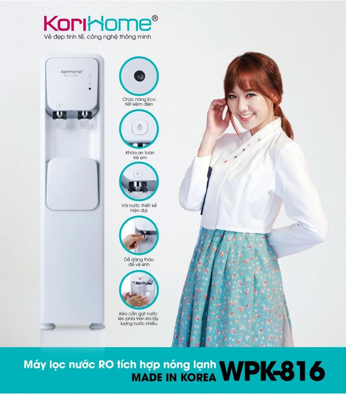 Tập đoàn Korihome là chuyên gia sản xuất máy lọc nước và điện gia dụng nổi tiếng của Việt Nam