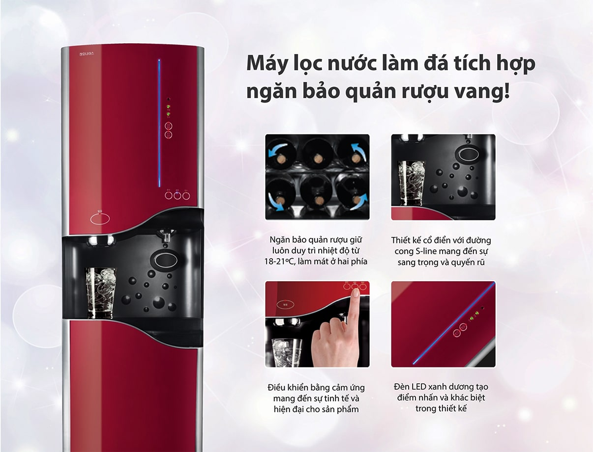 Chungho là thương hiệu máy lọc nước nóng lạnh lớn thứ 2 tại Hàn Quốc