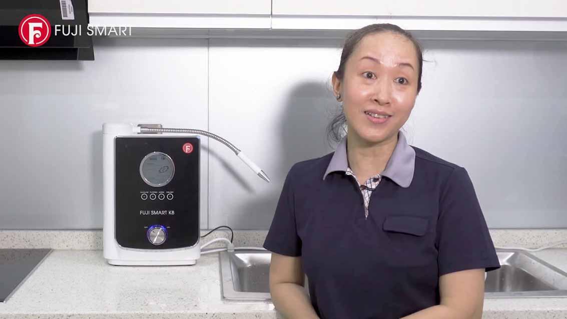Máy lọc nước ion kiềm Fuji Smart K8 là bước đột phá của Fuji Smart