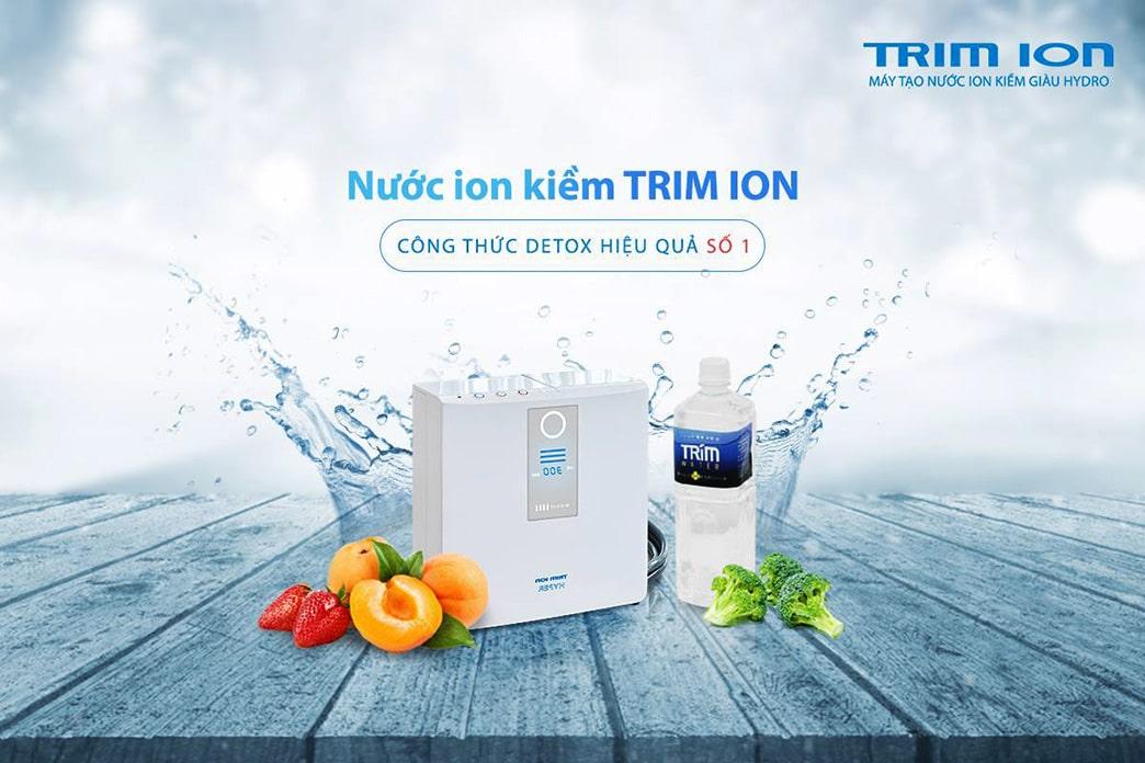 Máy lọc nước Trim ion chính là một trong những thiết bị lọc nước điện giải tốt nhất hiện nay