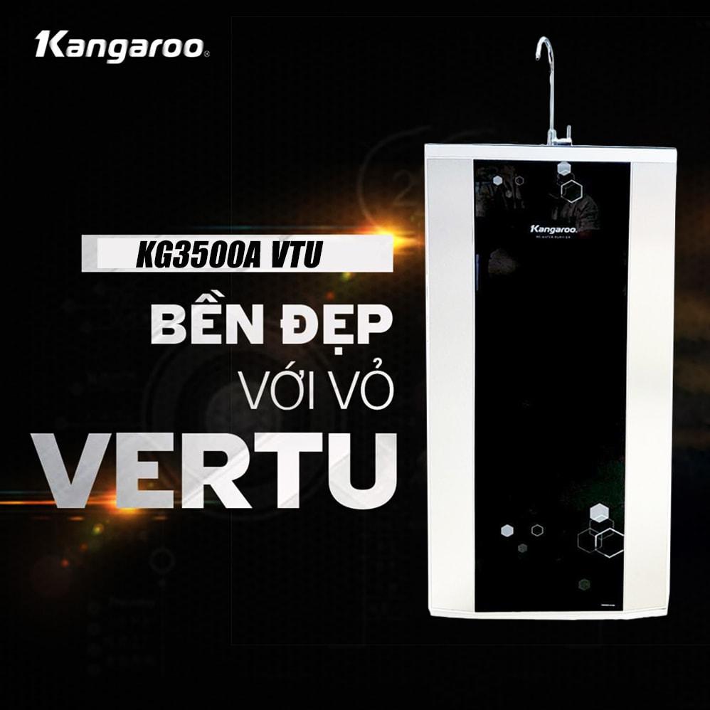 Kangaroo KG3500A VTU trở thành chiếc máy có thiết kế hiện đại