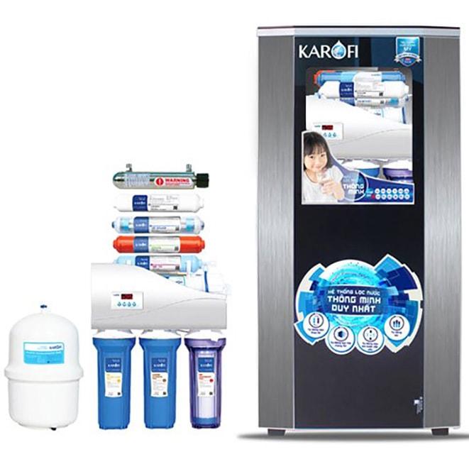 Dòng Karofi K8I-1 là model máy lọc nước có giá rẻ hơn so với những dòng trên