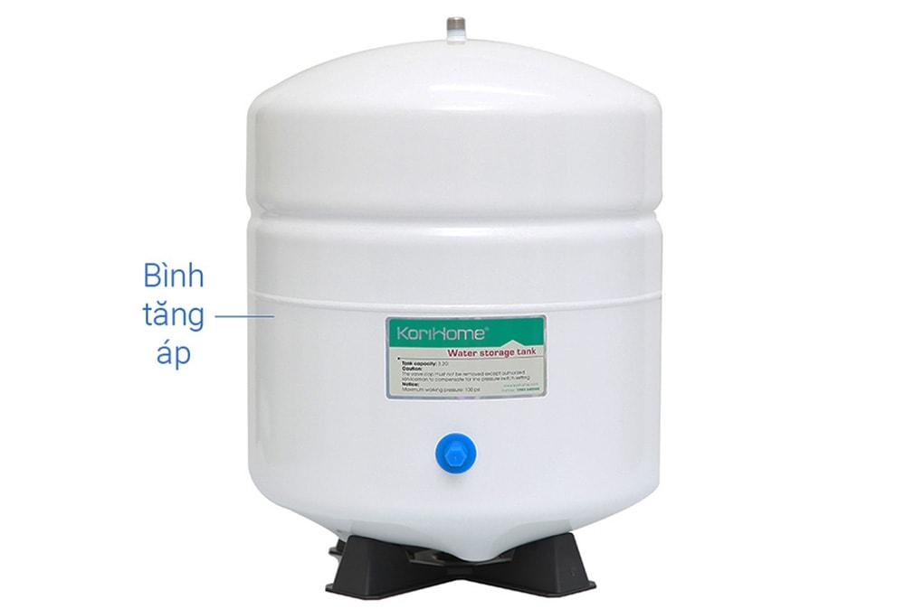 Korihome WPK-K91 tiên phong trên thị trường máy lọc nước với bình áp ngoài 3.2 Gallon