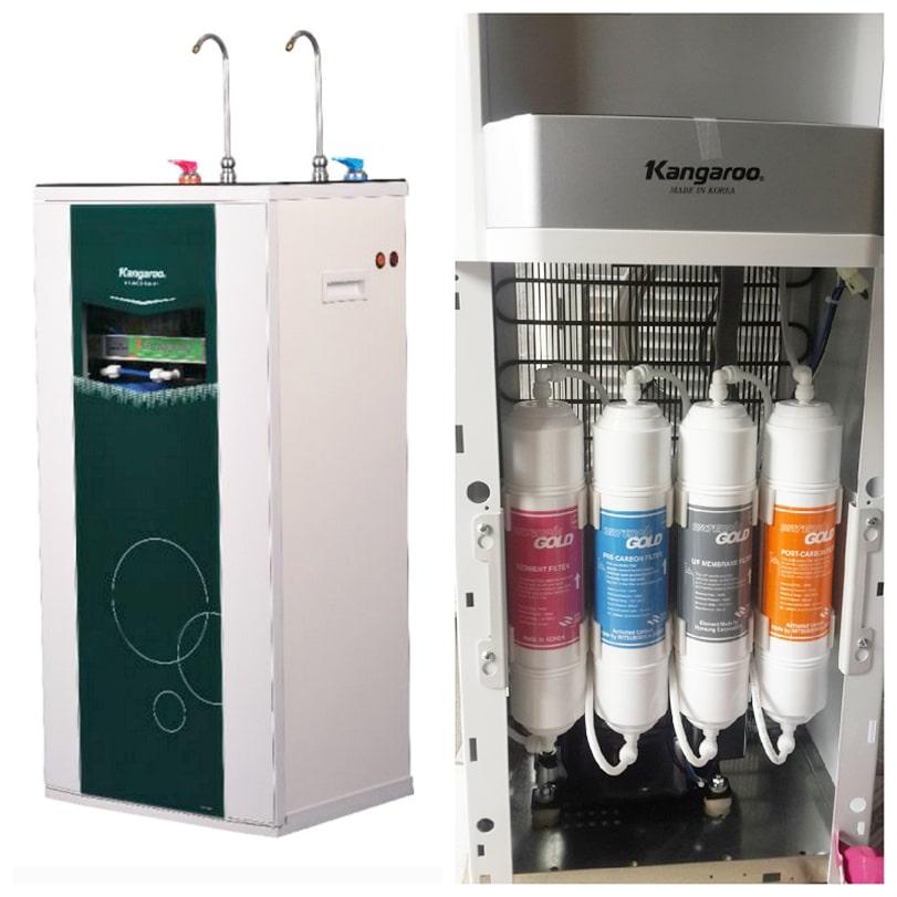 Cách sử dụng máy lọc nước nóng lạnh Kangaroo không quá phức tạp