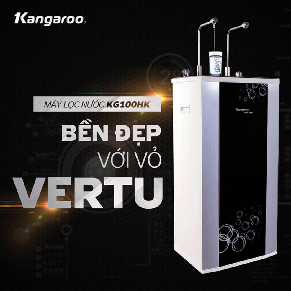 Máy lọc nước Kangaroo KG100HK giúp bảo vệ tối đa cho người sử dụng