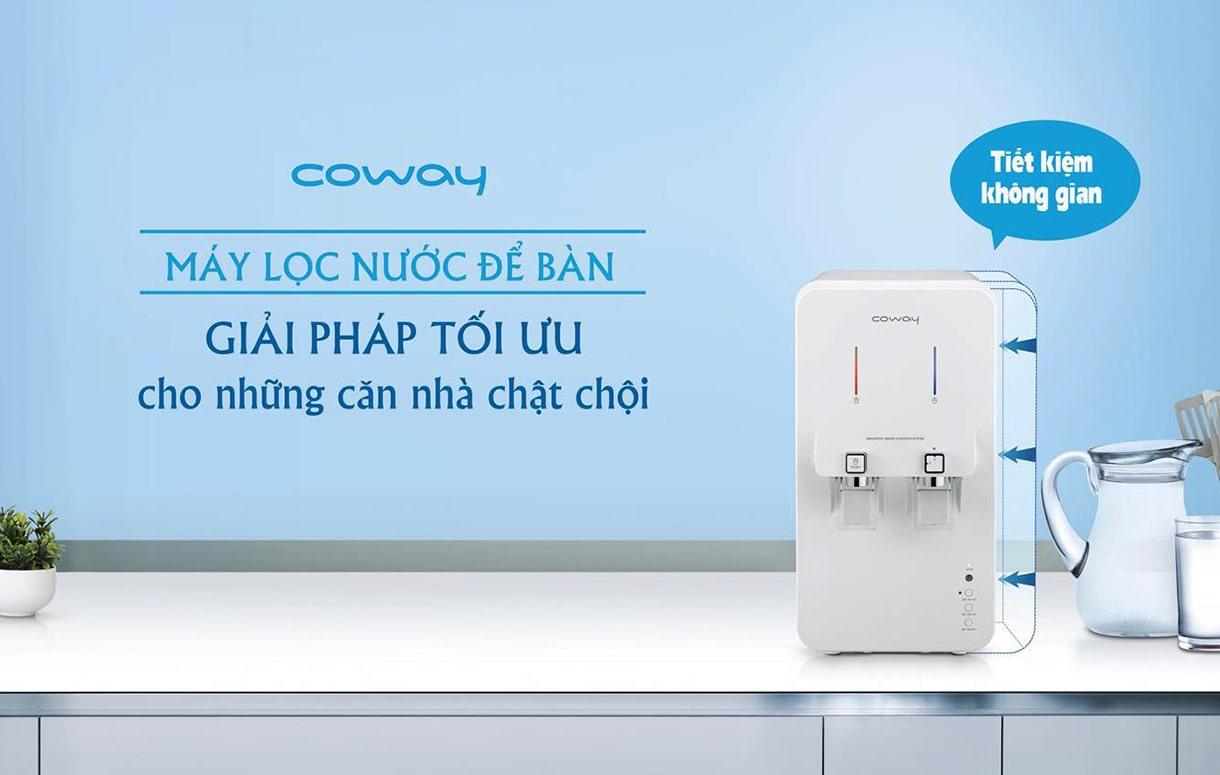 Máy lọc nước nóng lạnh Hàn Quốc thương hiệu Coway rất được ưa chuộng tại thị trường Việt Nam