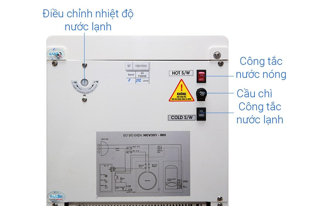 Máy lọc Karofi đảm bảo an toàn tuyệt đối cho người sử dụng