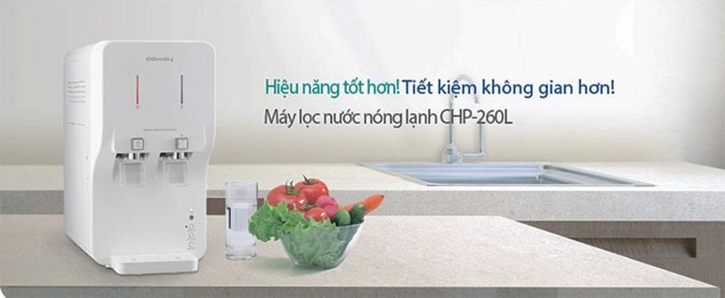 Coway là thương hiệu máy lọc nước nóng lạnh số 1 Hàn Quốc