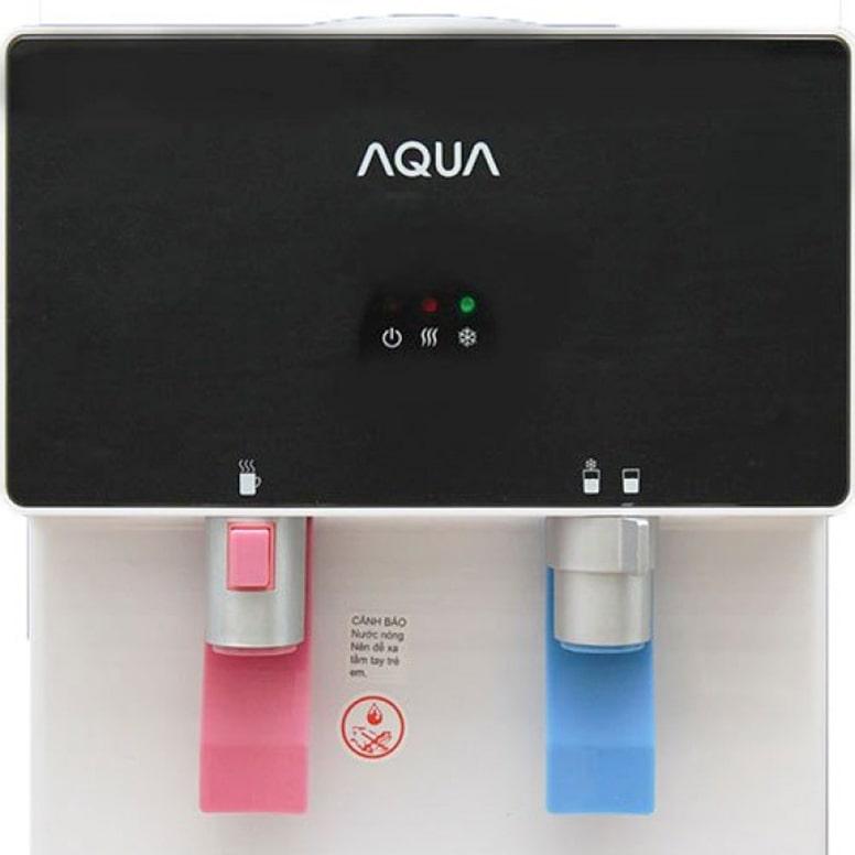 Máy lọc nước Aqua 2 vòi nóng lạnh được thiết kế hết sức gọn gàng