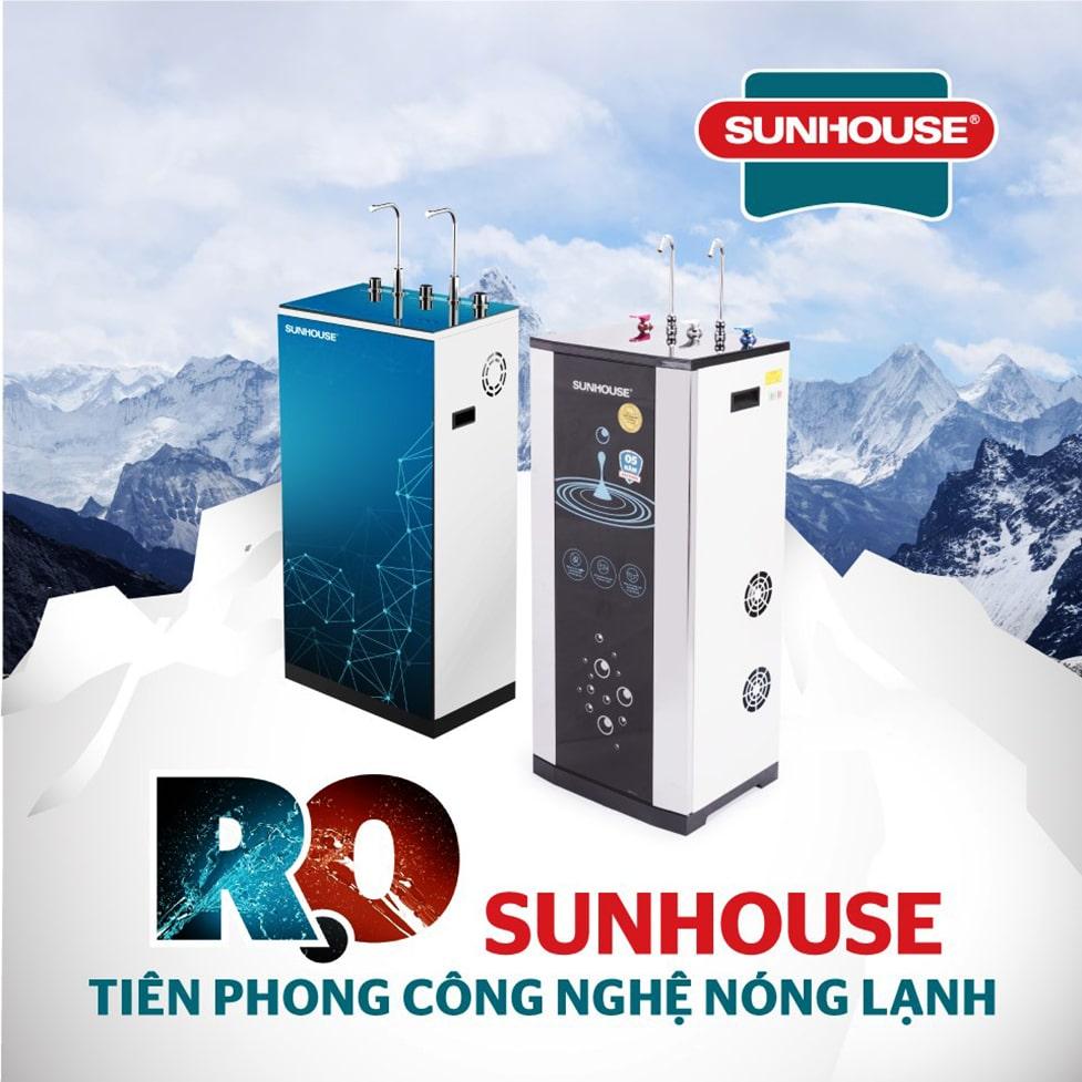 Máy lọc nước nóng lạnh Sunhouse là một trong những sản phẩm đáng để trải nghiệm