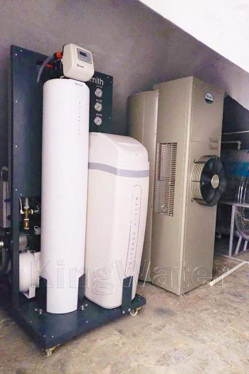 Quá trình lắp máy lọc nước tổng đầu nguồn AoSmith LS03U
