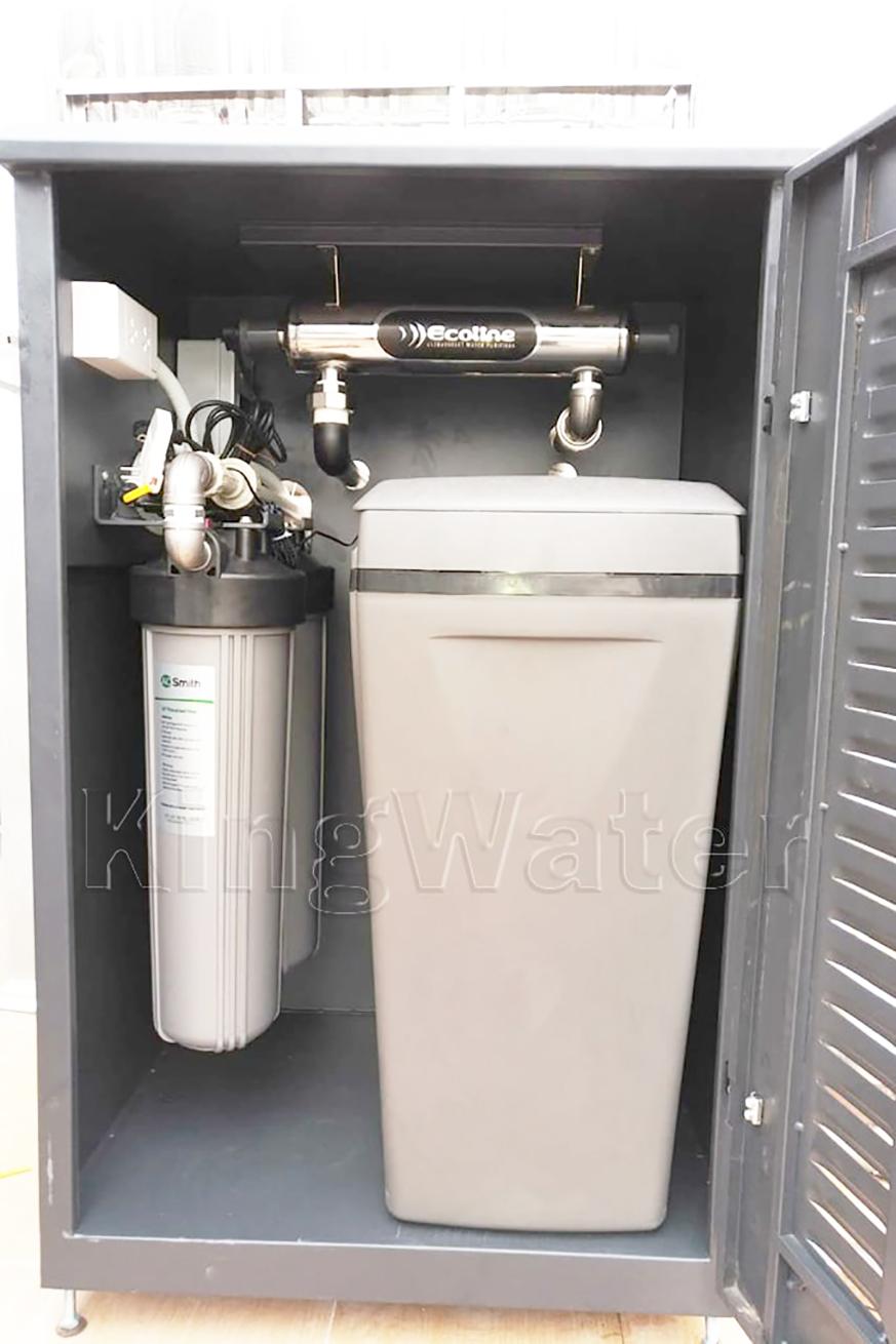 Hình ảnh thực tế lắp hệ thống lọc nước Ao Smith i97