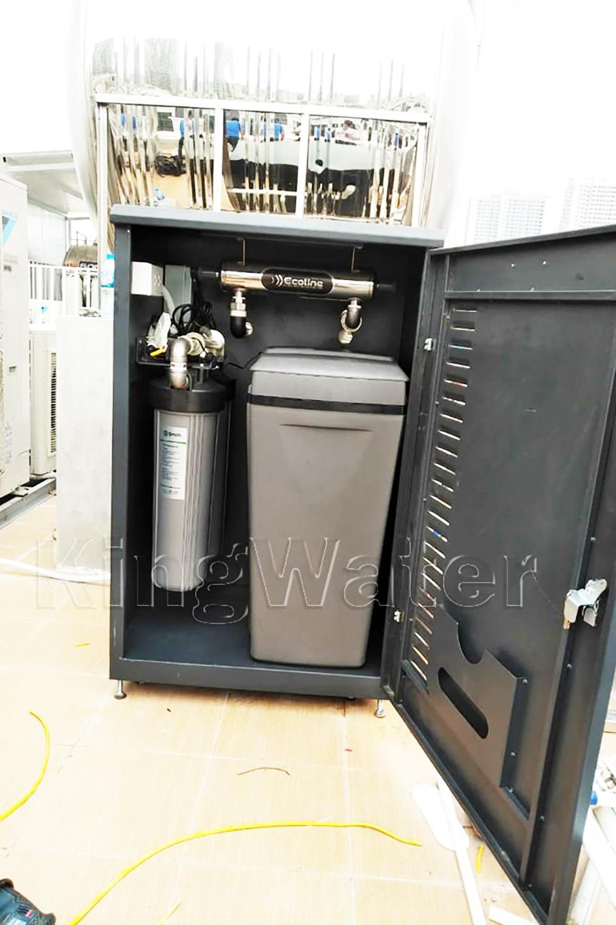 Hình ảnh thực tế lắp hệ thống lọc nước tổng đầu nguồn Ao Smith i97