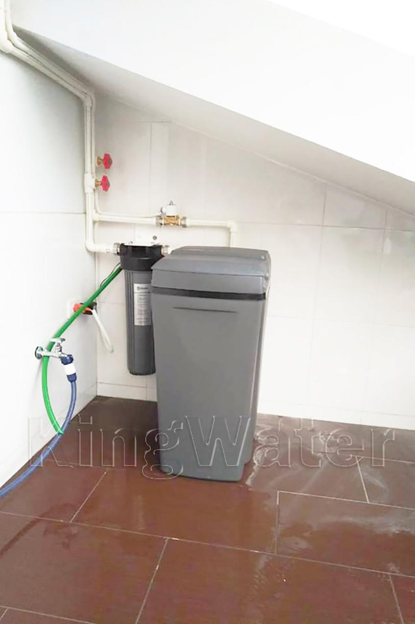 Quá trình lắp hệ thống lọc nước tổng Ao Smith i97