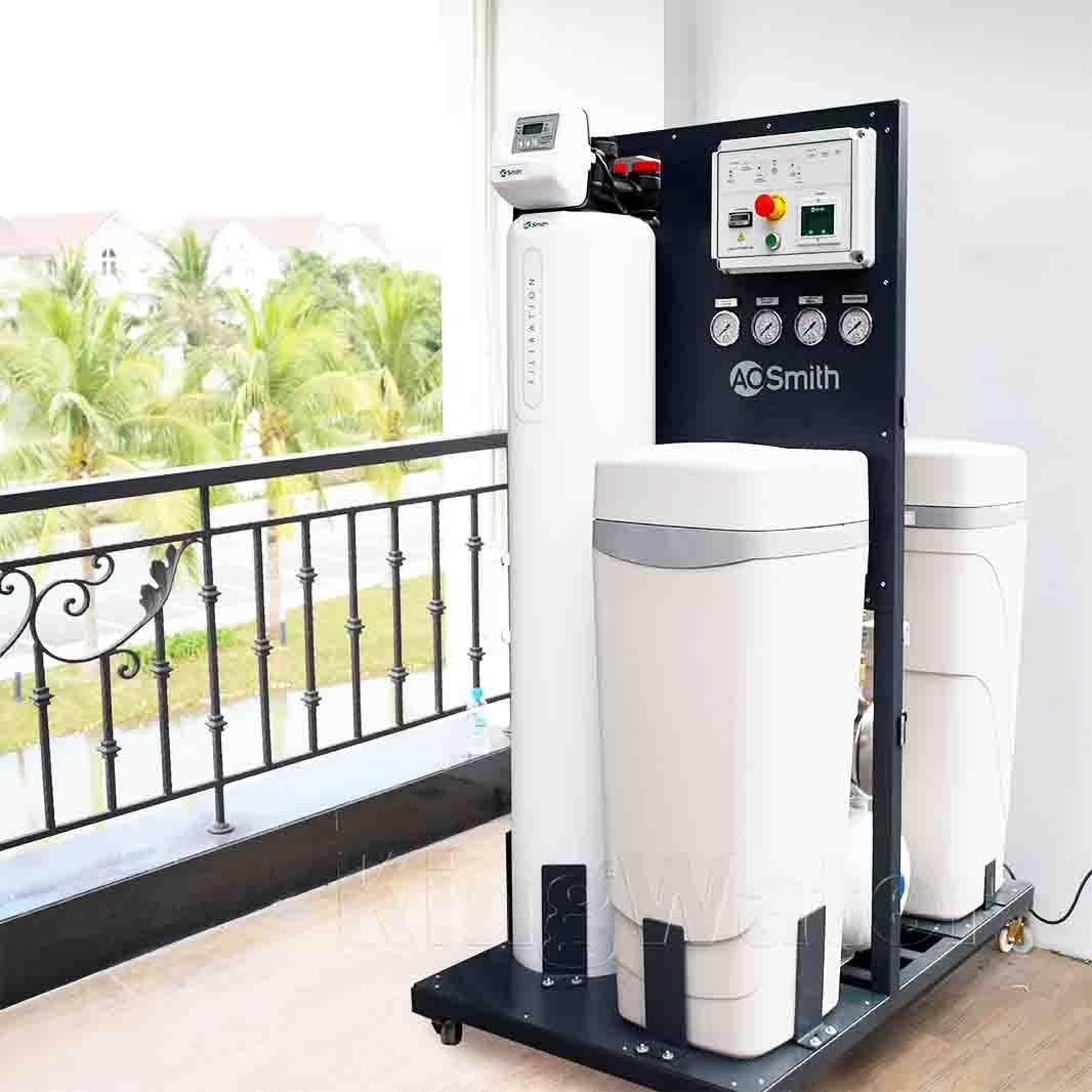 Máy lọc nước Ao Smith System 103 được thiết kế sang trọng