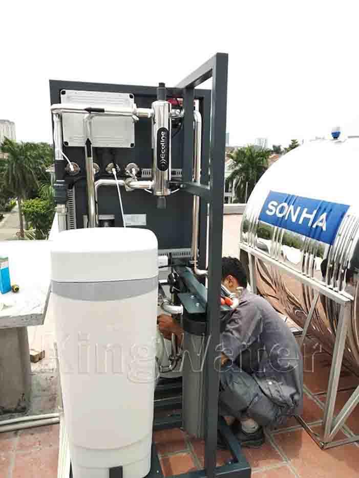 Quy trình lắp đặt máy lọc nước tổng đầu nguồn AoSmith System 103