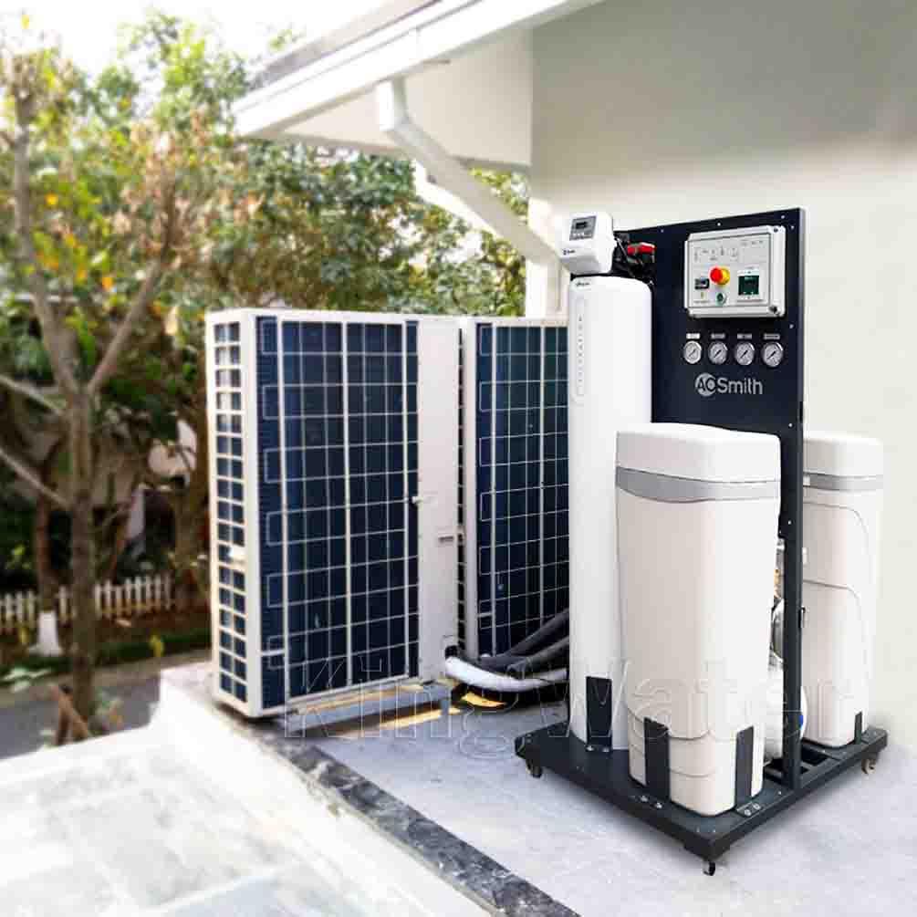 Quá trình lắp đặt máy lọc nước tổng đầu nguồn AoSmith System 103